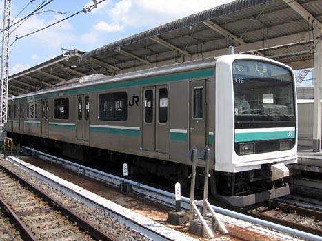 常磐線上野口から撤退へ E501系:...