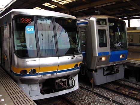 東西線へ転属目前 東京メトロ07系: Kaz-T's blog レインボーライン